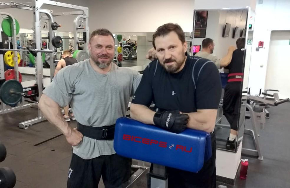Юрий Леонов и Олег Макшанцев